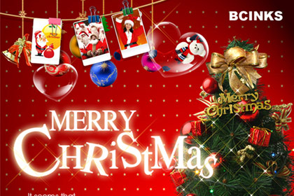 BCinks China Wish you a Merry Christmas and a Happy New Year!
