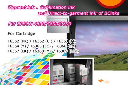 Sublimation ink For EPSON 4890/7890/9890